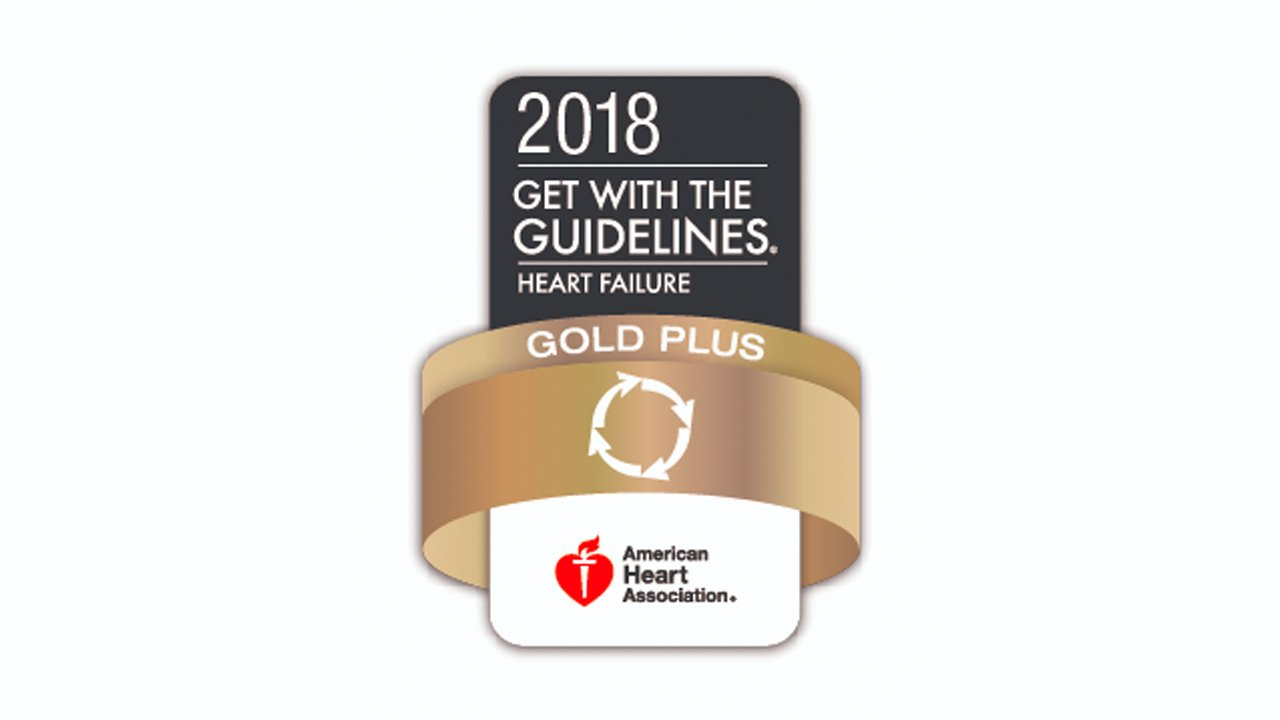 Heart Failure Gold Plus Quality Achievement 2018