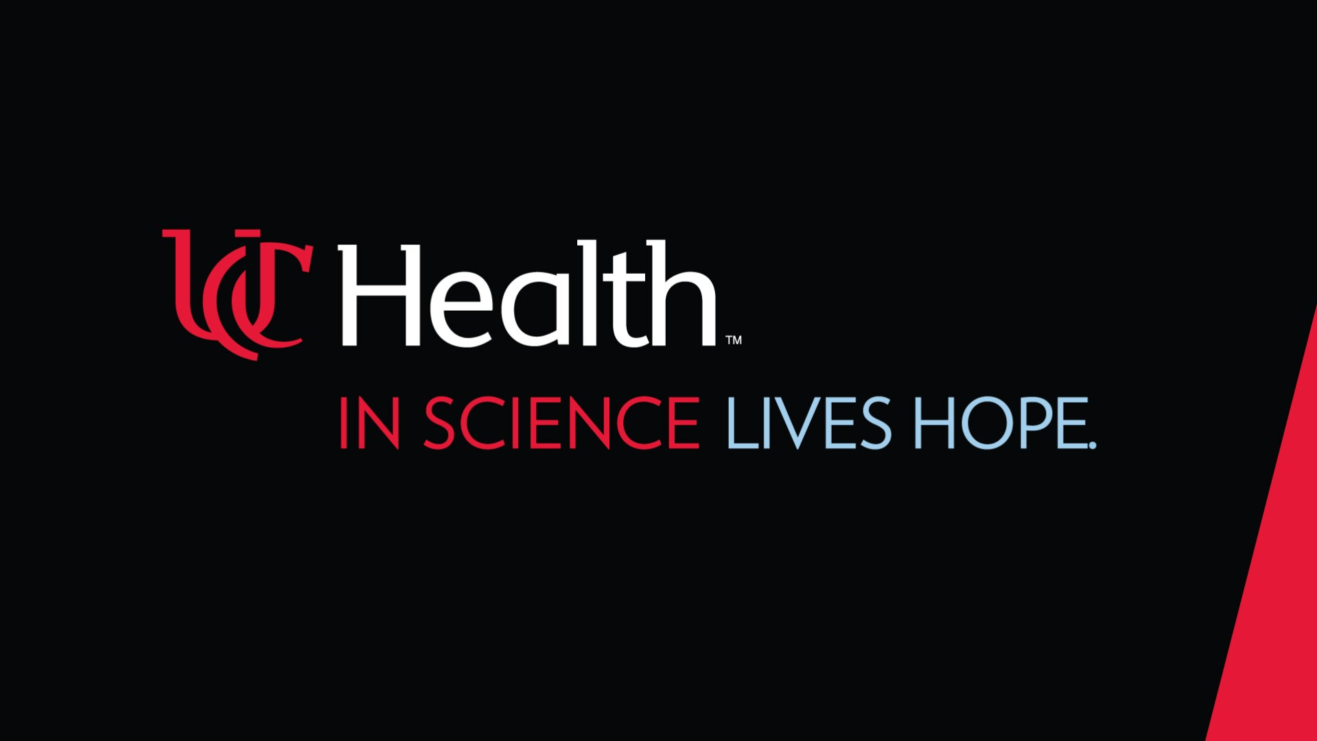 uc health - in science lives hope