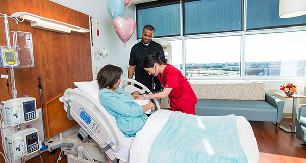 Our obstetrical nurses have a minumum of five years of experience in labor and delivery units, and many have higher levels of specialized training.