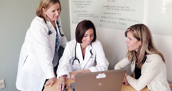 A collaborative team of doctors, nurses, clinicians, specialty providers and administrative staff really care about delivering coordinated and comprehensive patient-centered care.