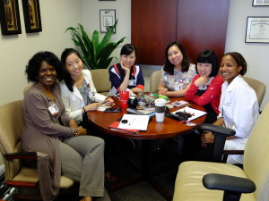 Visiting nurses from West China.