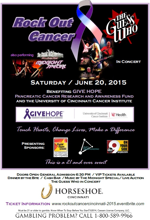 Rock Out Cancer Concert