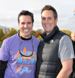 Brothers and event co-chairs Brian, left, and Joe Wiles.