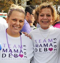 Cindy Switzer, left, and Linda Dempsey, CNRN.