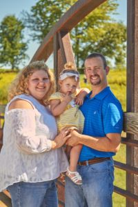 The Schreffler family have all received cochlear implants.