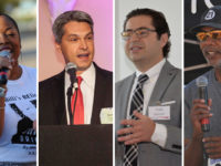 Four speakers at braint tumor event