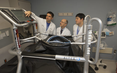 AlterG Treadmill May Transform Stress Testing for Cardiac Patients