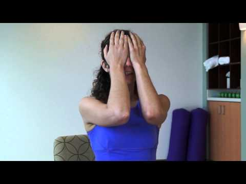 Yoga - 1 Minute Eye Strain Relief Exercise